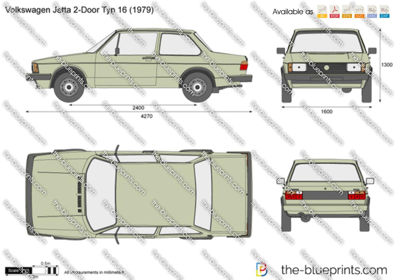 Volkswagen Jetta 2-Door Typ 16