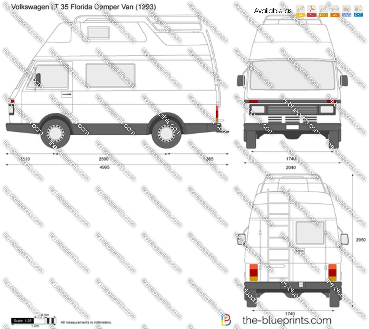 Volkswagen LT 35 Florida Camper Van