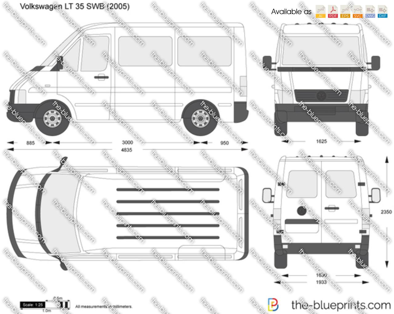 Volkswagen LT 35 SWB