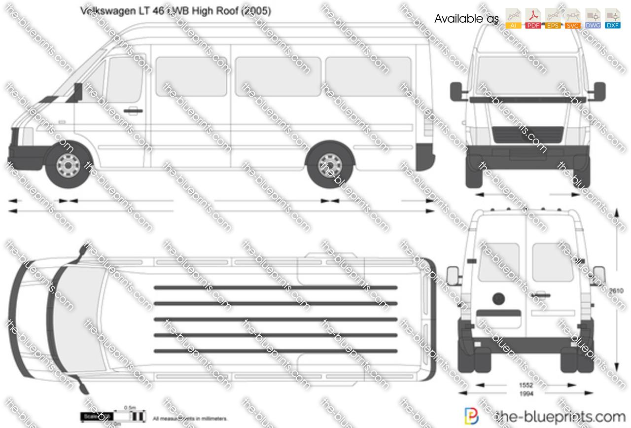 Volkswagen LT 46 LWB High Roof