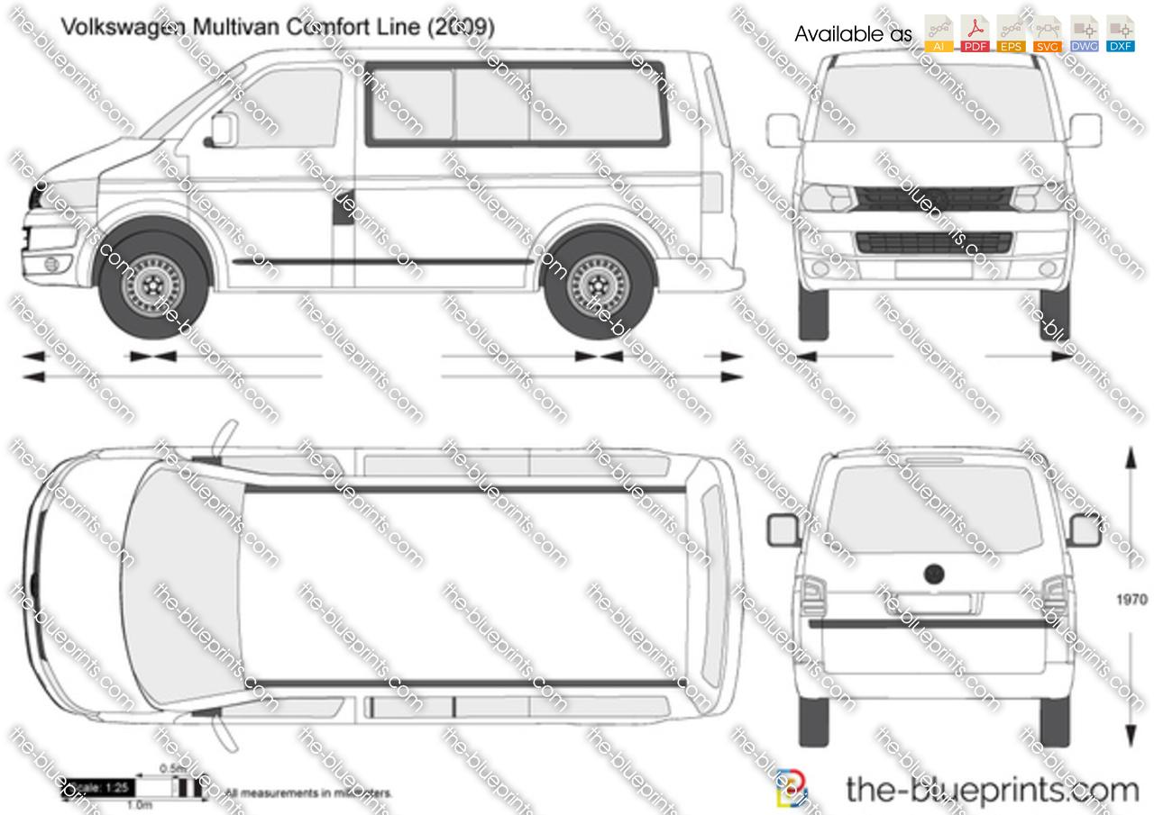 Volkswagen Multivan Comfort Line 2010