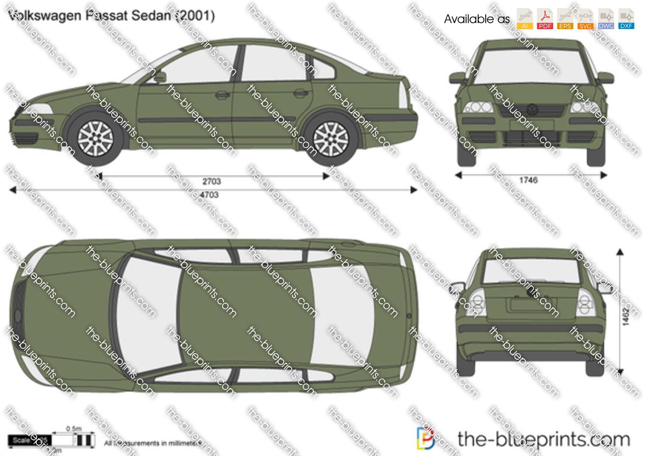 Volkswagen Passat Sedan 2000
