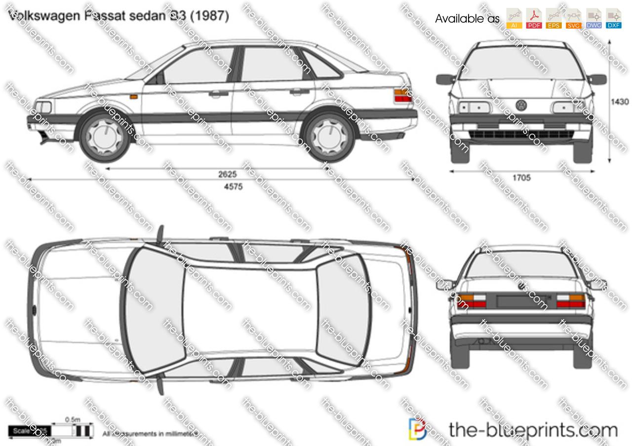 Volkswagen Passat sedan B3