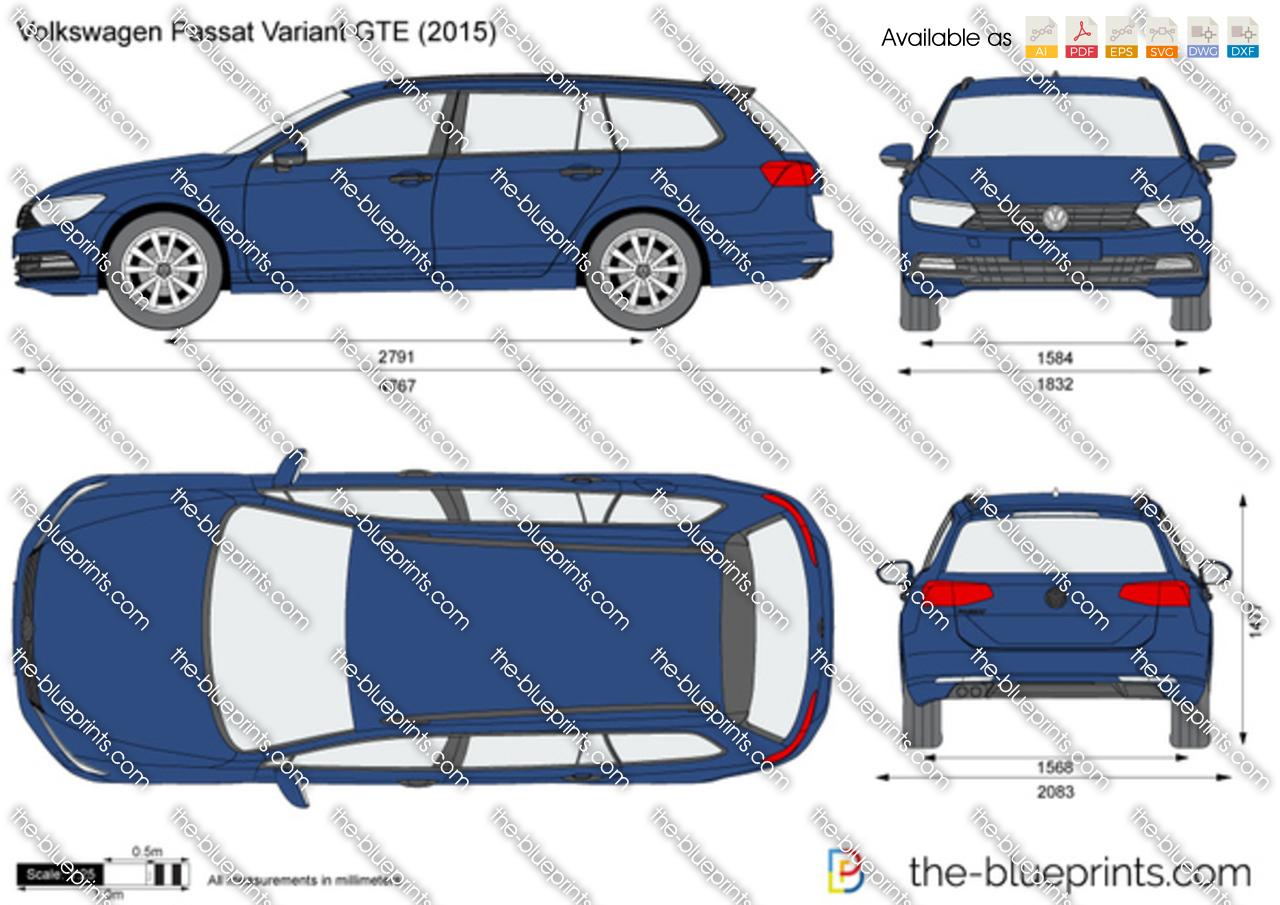 Volkswagen Passat Variant GTE 2016