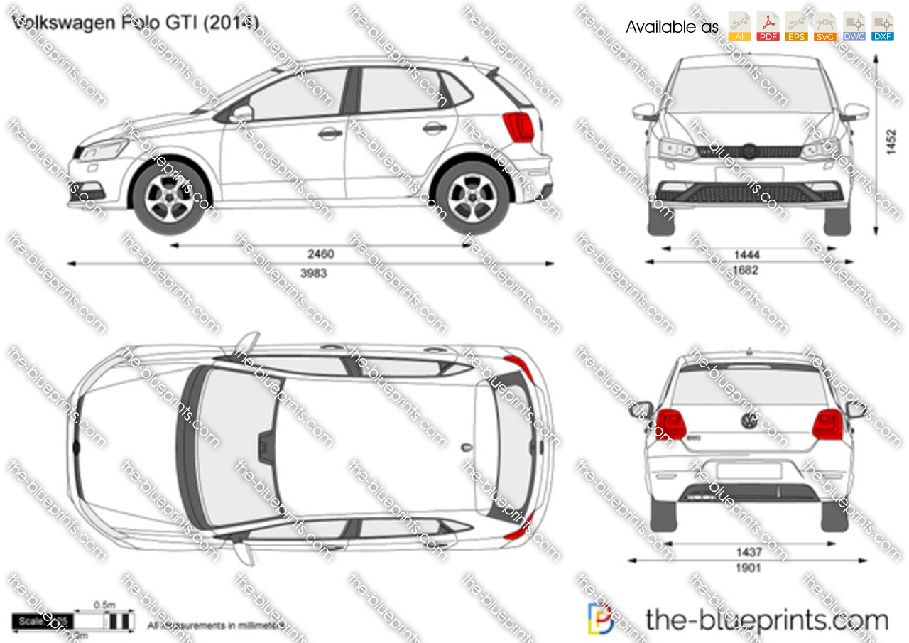 Volkswagen polo gti on ford car clip art
