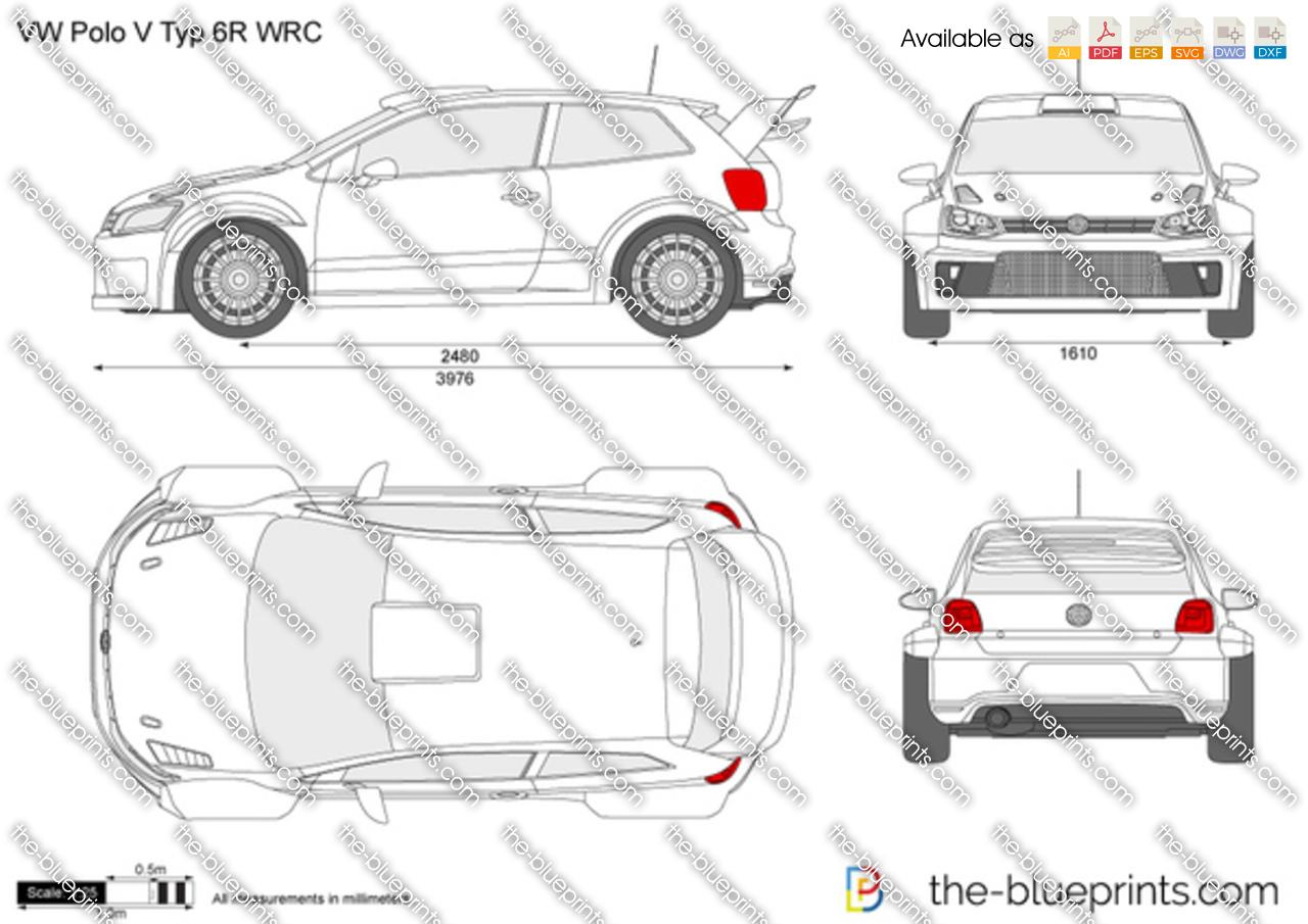 Volkswagen Polo V Typ 6R WRC