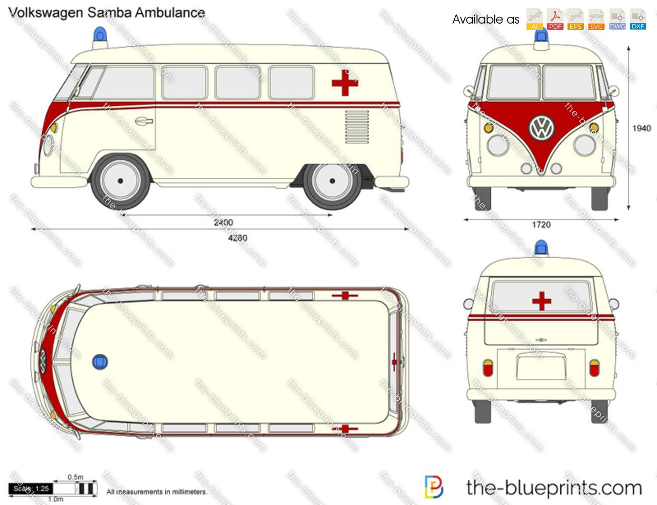 Volkswagen Samba Ambulance
