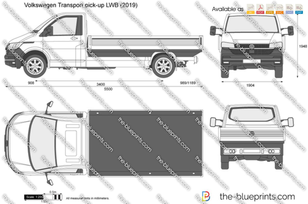 Volkswagen Transport pick-up LWB