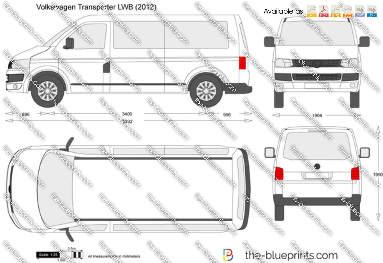 Volkswagen Transporter T5.2 LWB 2009