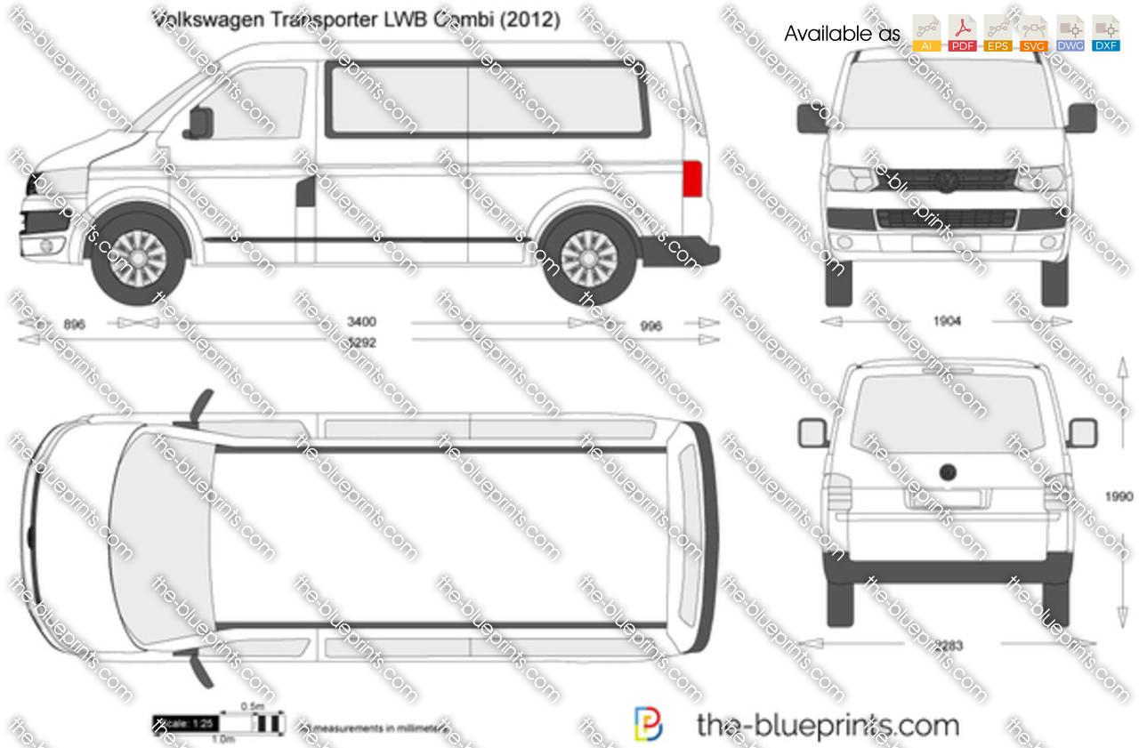 Volkswagen Transporter T5.2 LWB Combi 2009