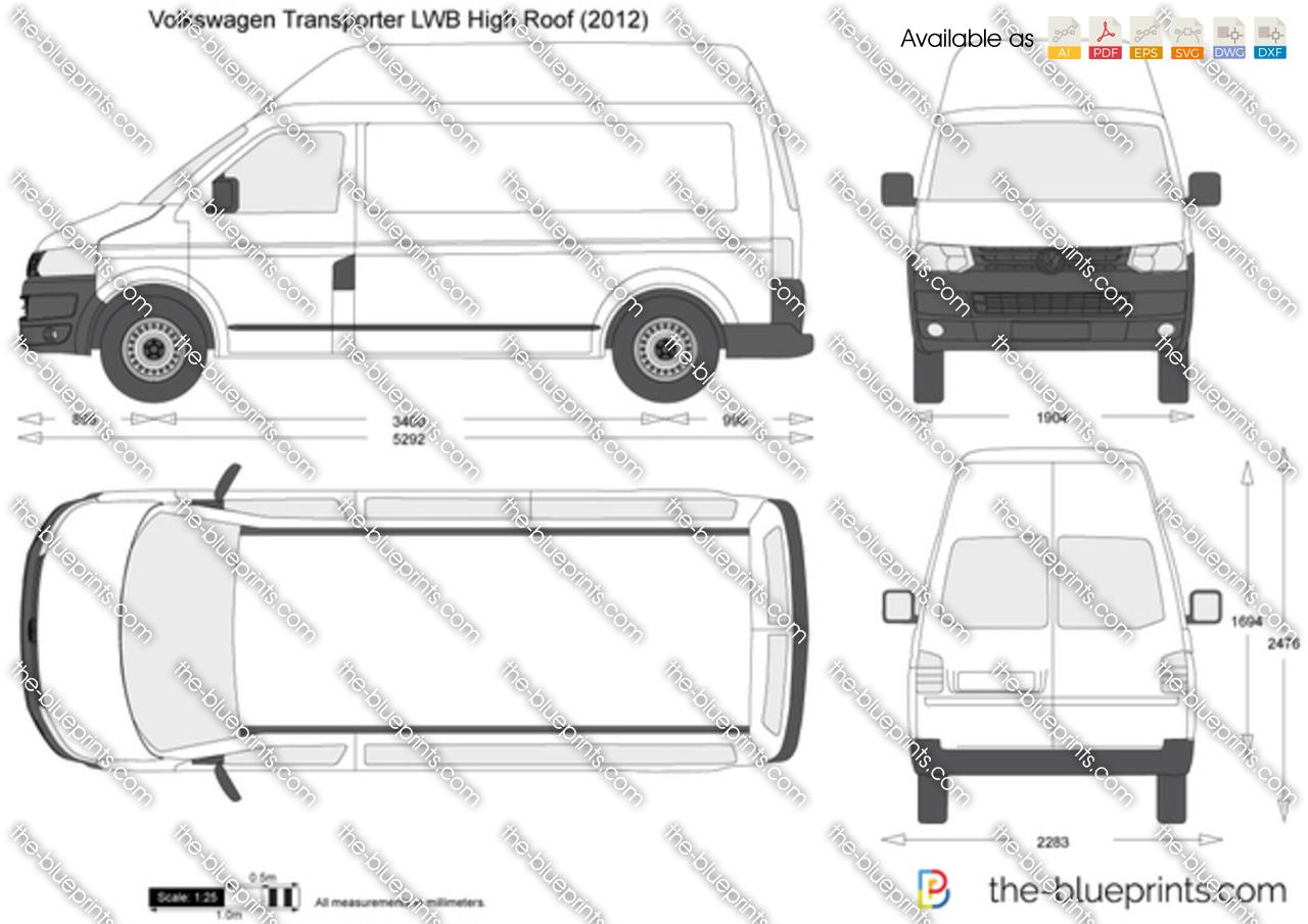 Volkswagen Transporter T5.2 LWB High Roof
