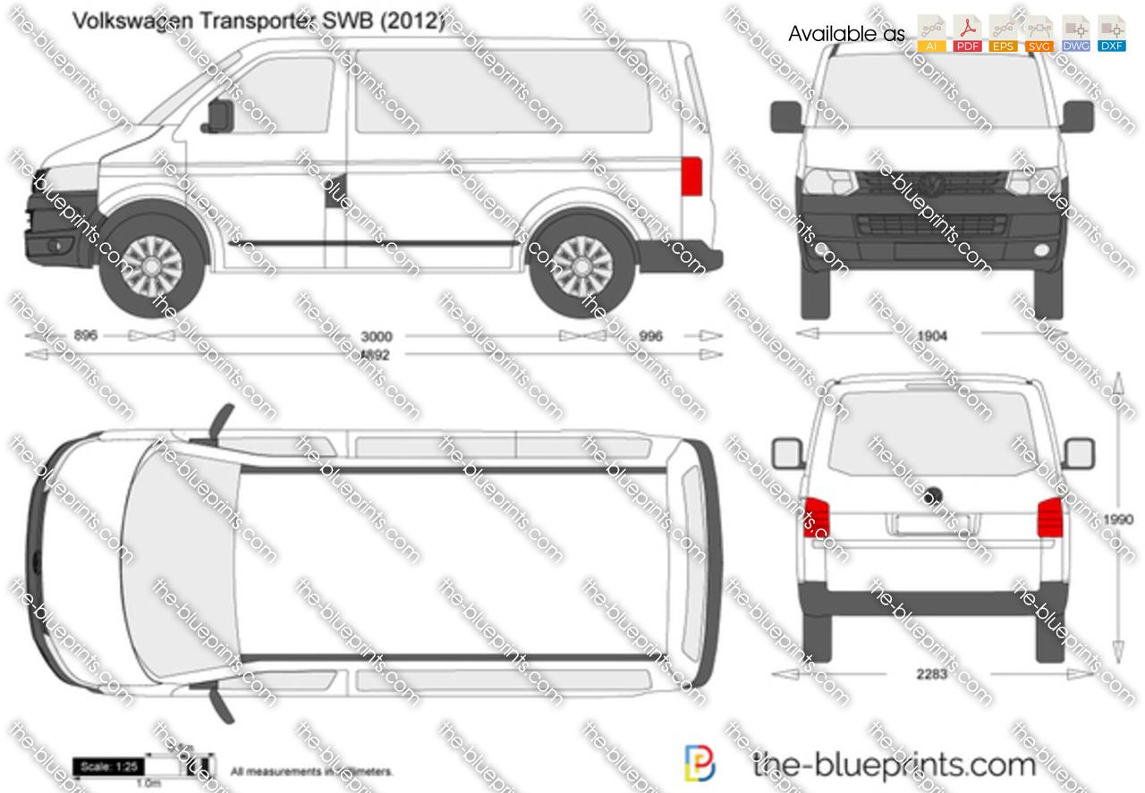 Volkswagen Transporter T5.2 SWB 2014