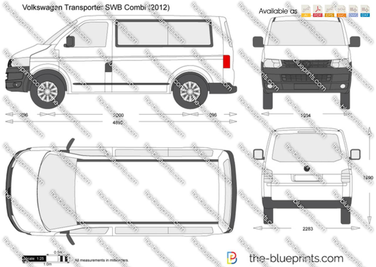 Volkswagen Transporter T5.2 SWB Combi 2015
