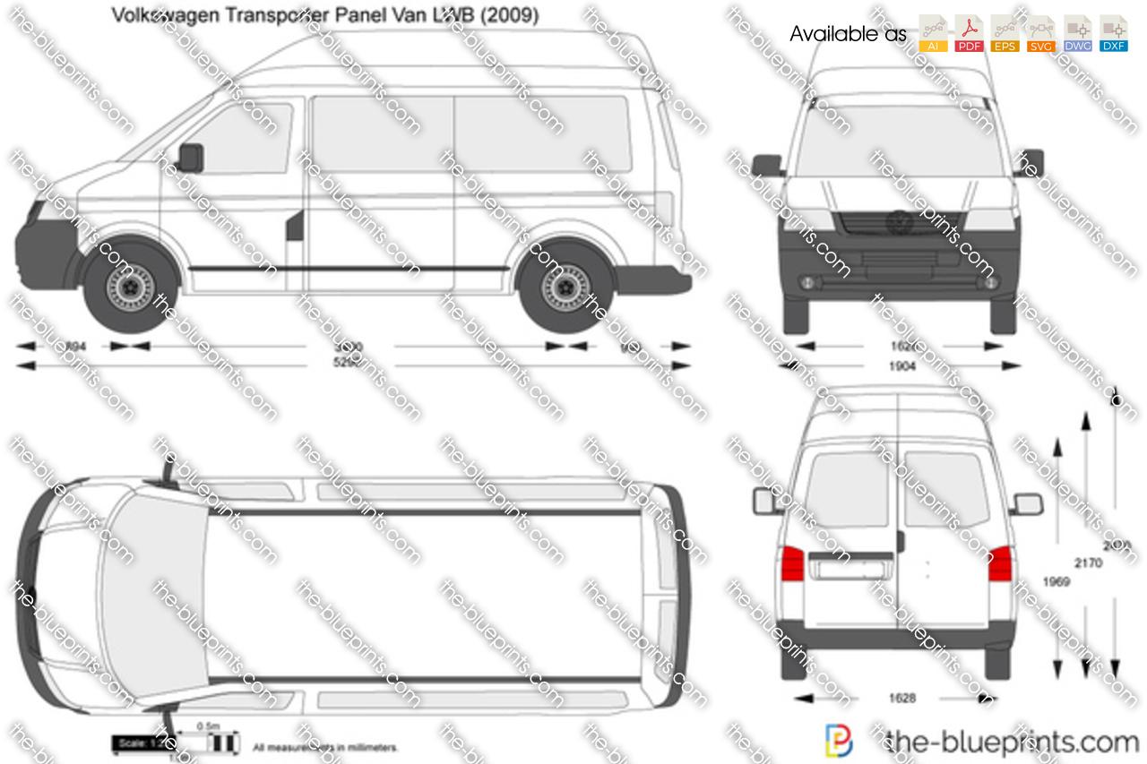Volkswagen Transporter T5 Panel Van LWB