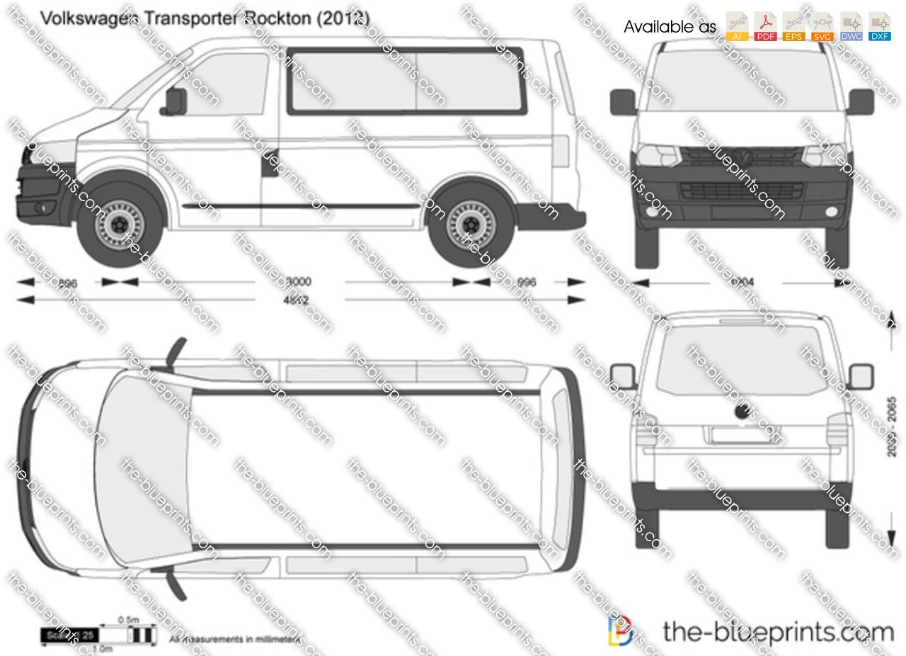 Volkswagen Transporter T5 Rockton