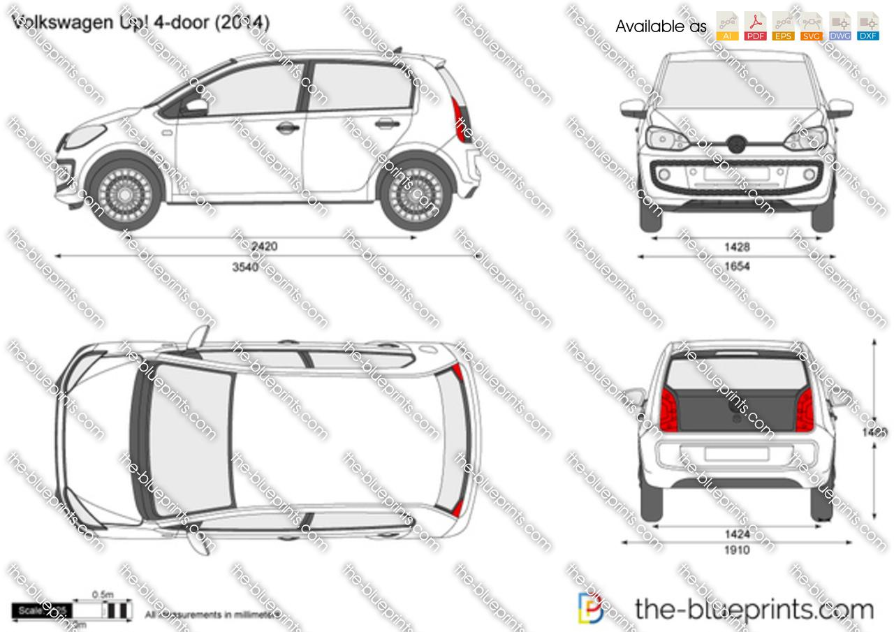 Volkswagen Up! 4-door 2015