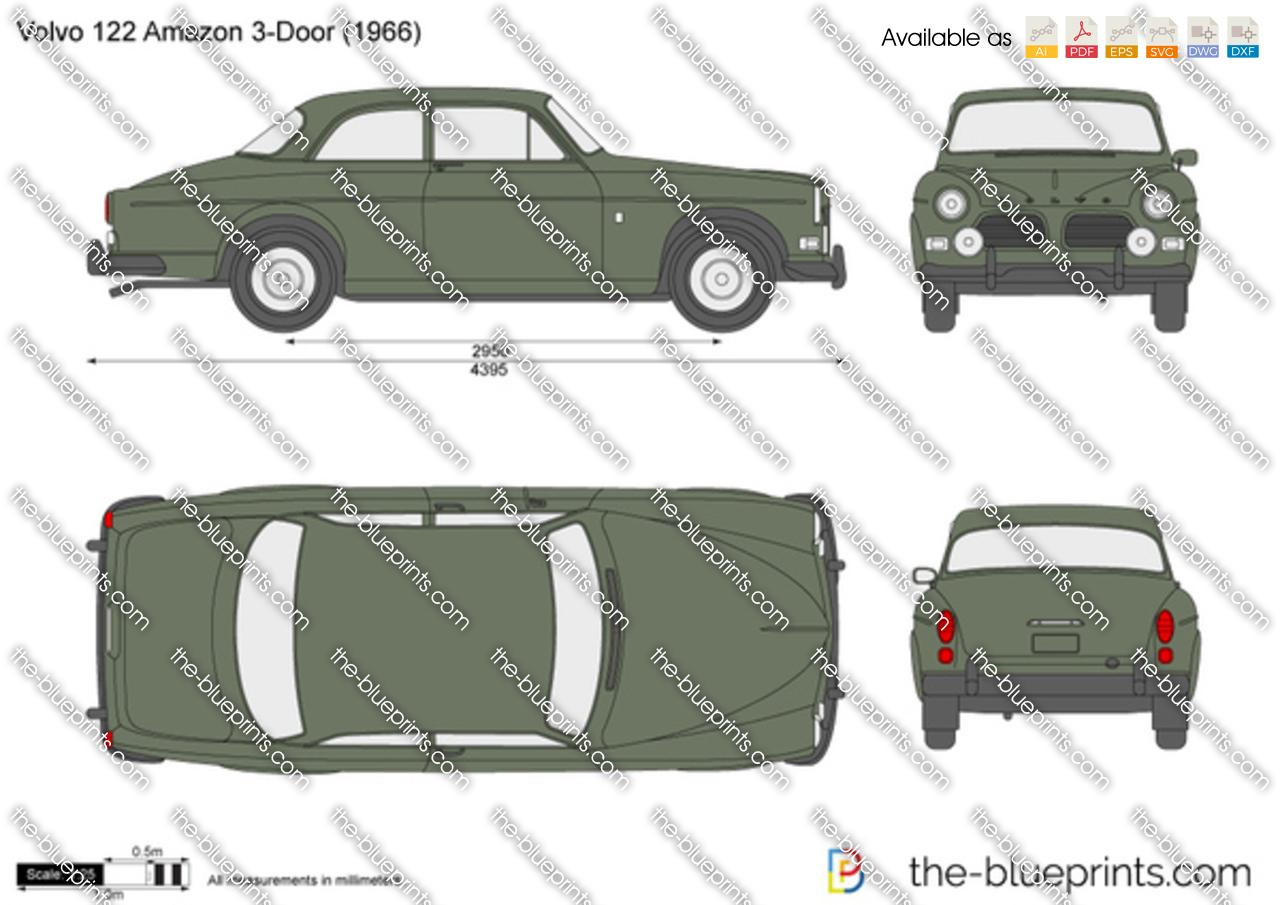 Volvo 122 Amazon 1958
