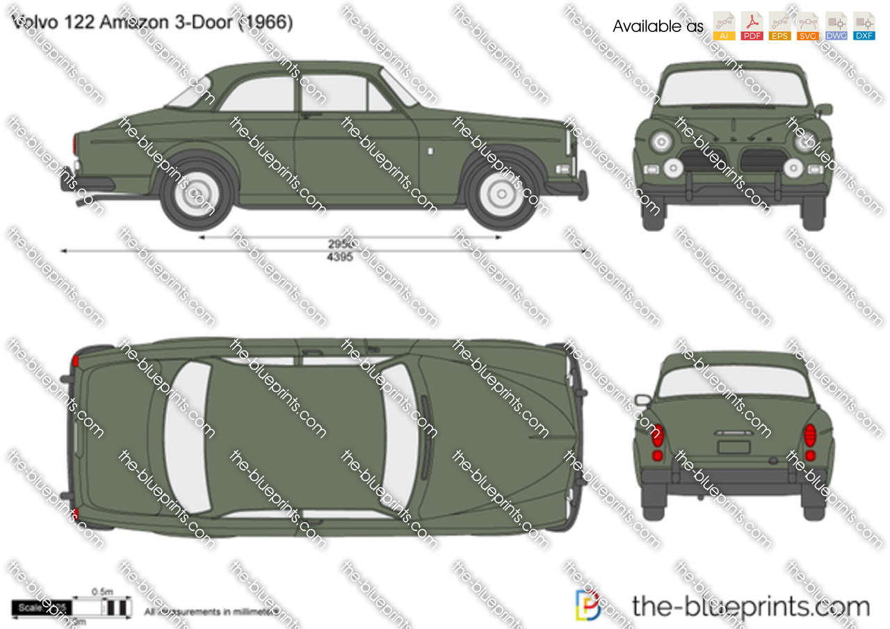 Volvo 122 Amazon 1968