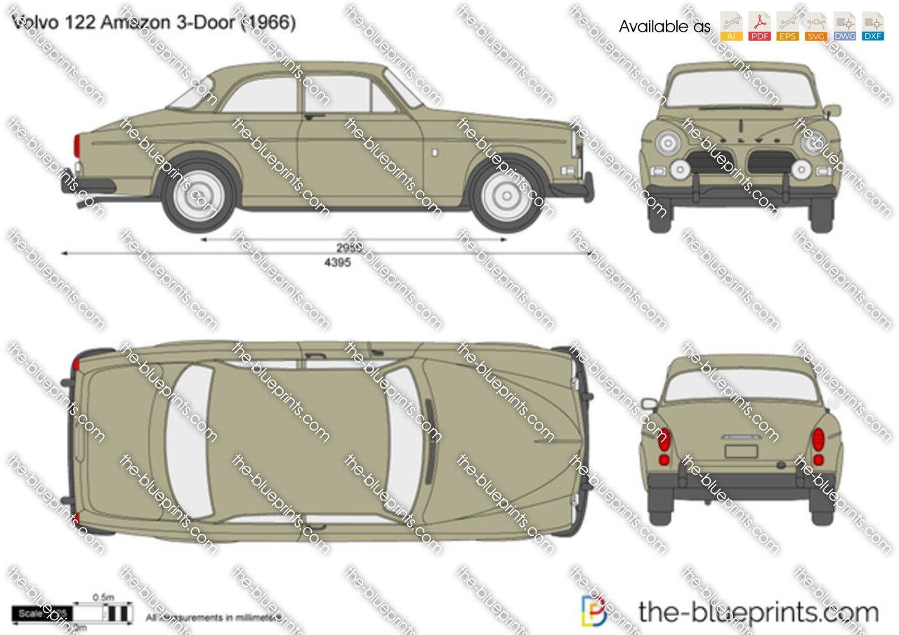 Volvo 122S Amazon 1958