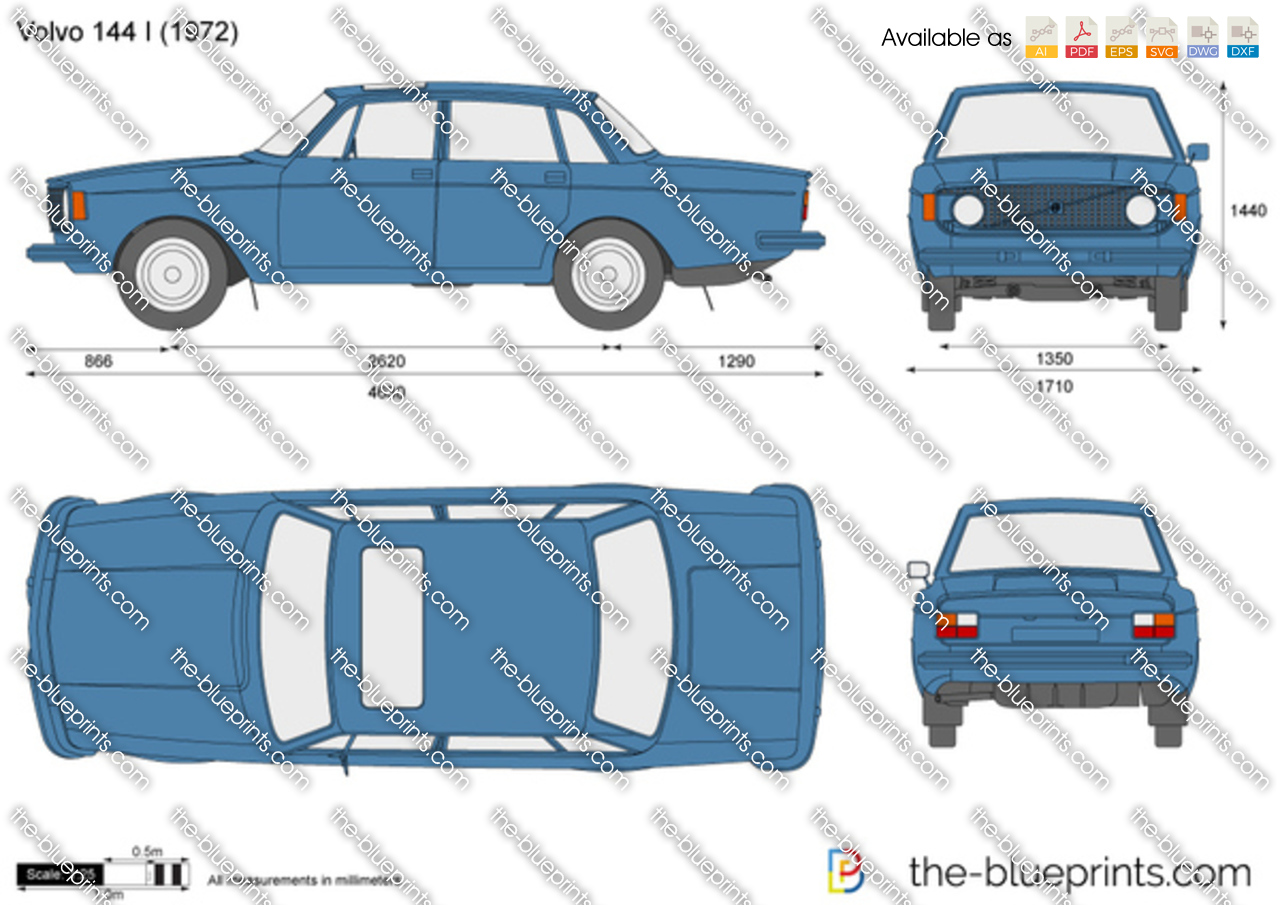 Volvo 144 I 1968