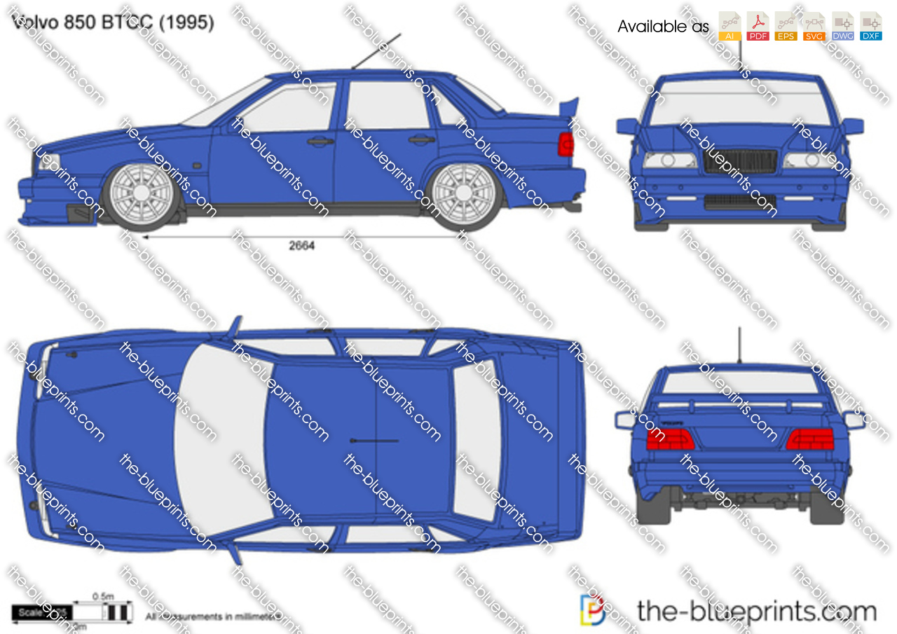 Volvo 850 BTCC 1995
