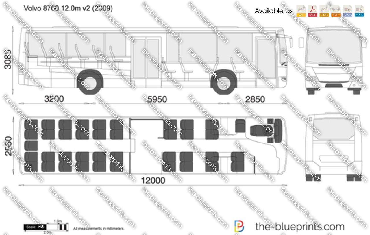 Volvo 8700 LE 12.0m