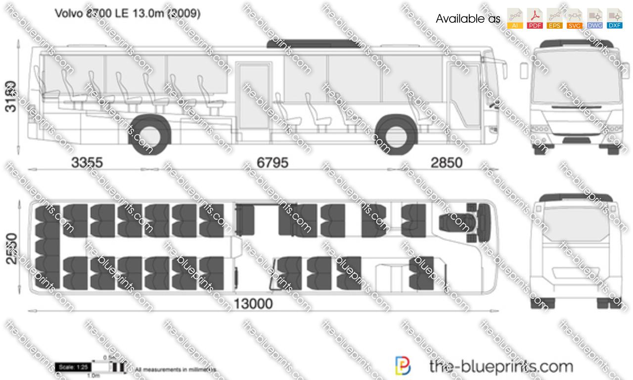 Volvo 8700 LE 13.0m