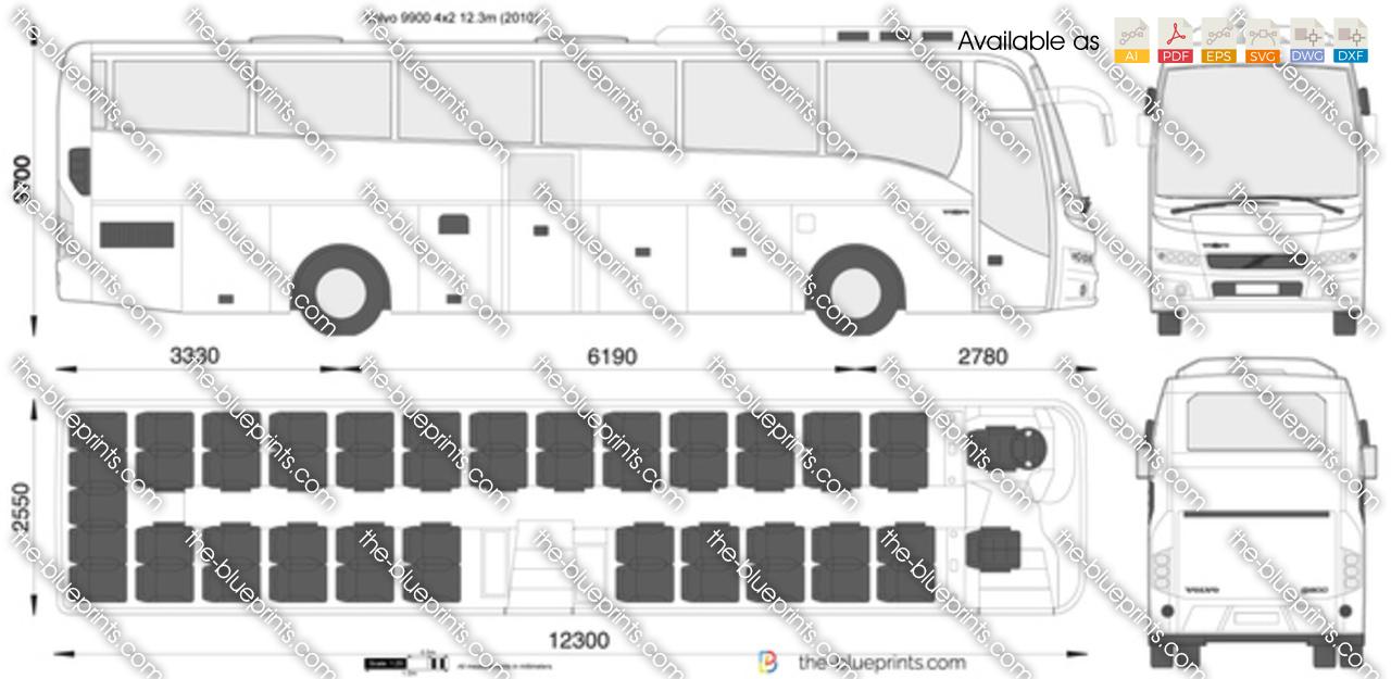 Volvo 9900 4x2 12.3m