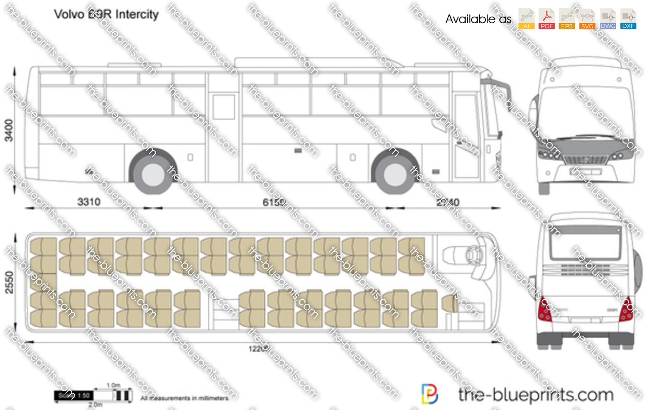 Volvo B9R Intercity