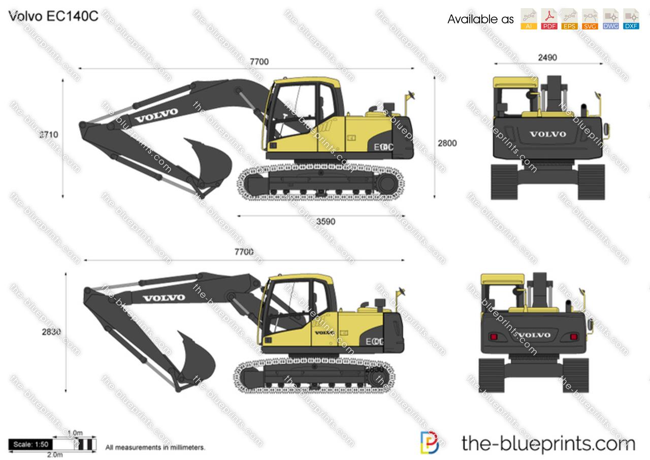 Volvo EC140C Crawler Excavator