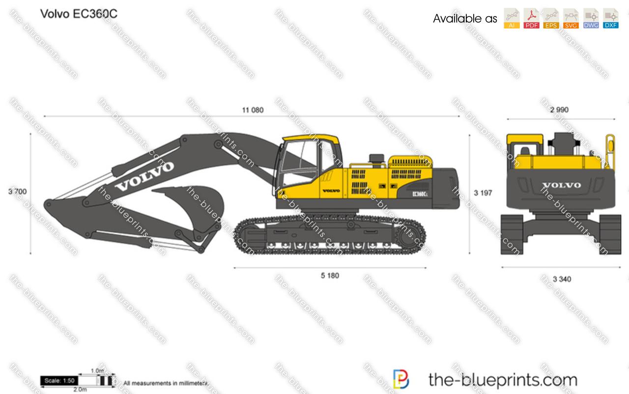 Volvo EC360C Crawler Excavator