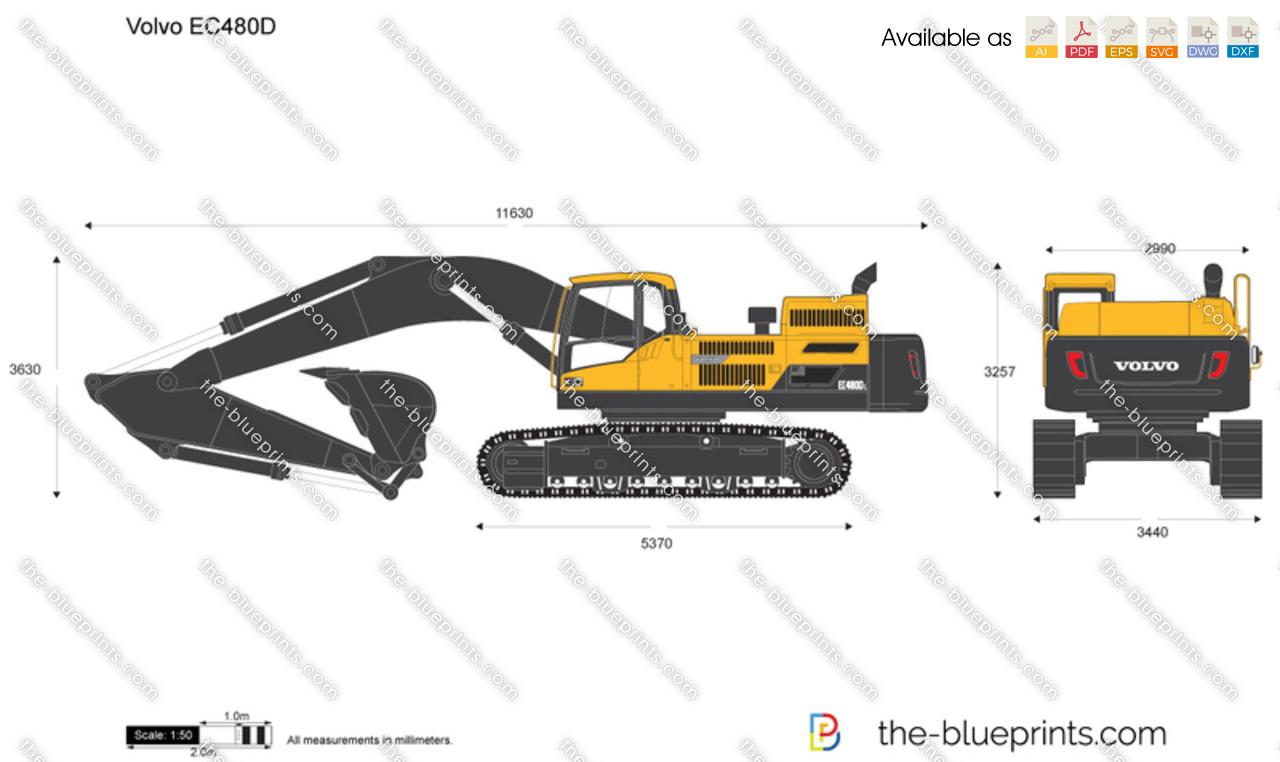 Volvo EC480D Crawler Excavator