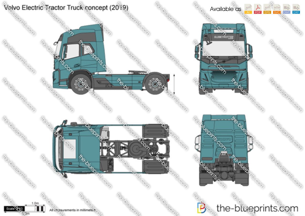 Volvo Electric Tractor Truck concept