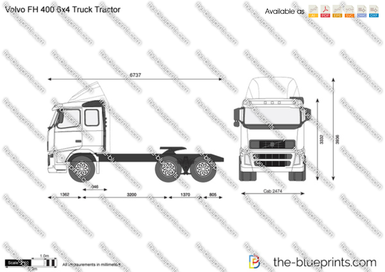 Volvo FH 400 6x4 Truck Tractor