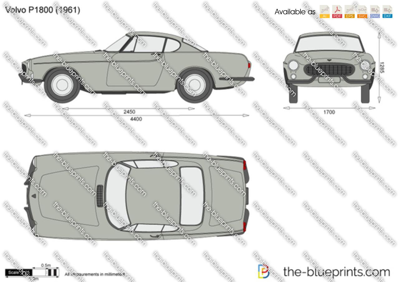 Volvo P1800 1968