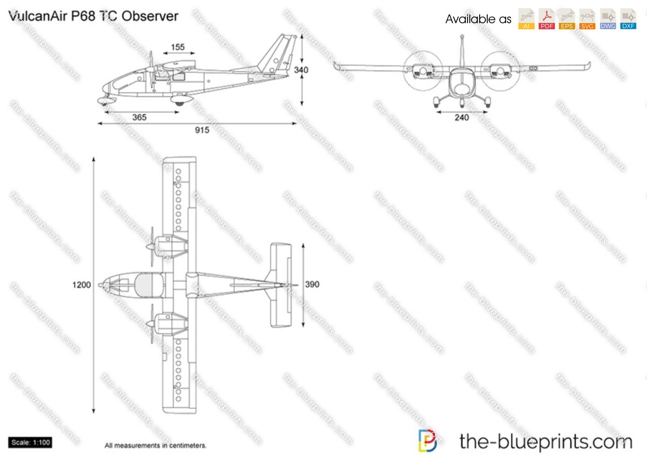 VulcanAir P68 TC Observer