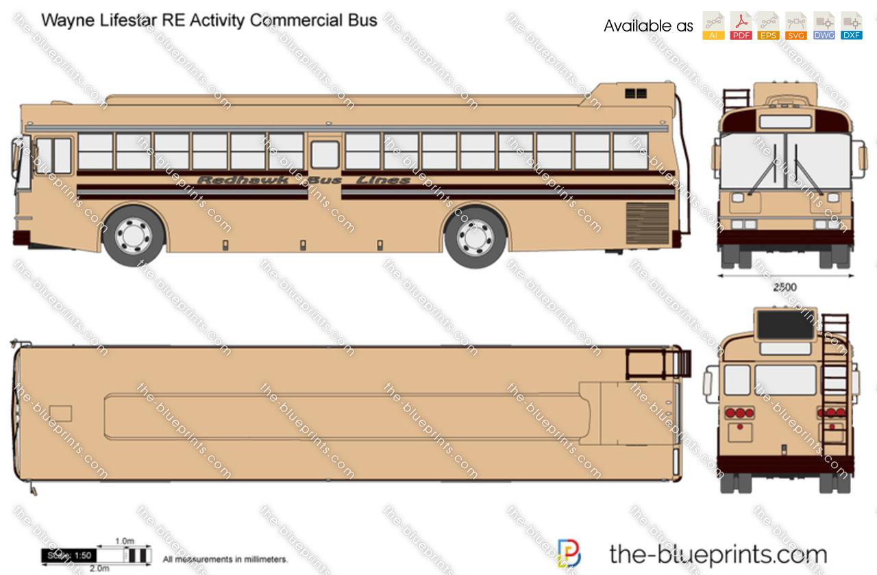 Wayne Lifestar RE Activity Commercial Bus