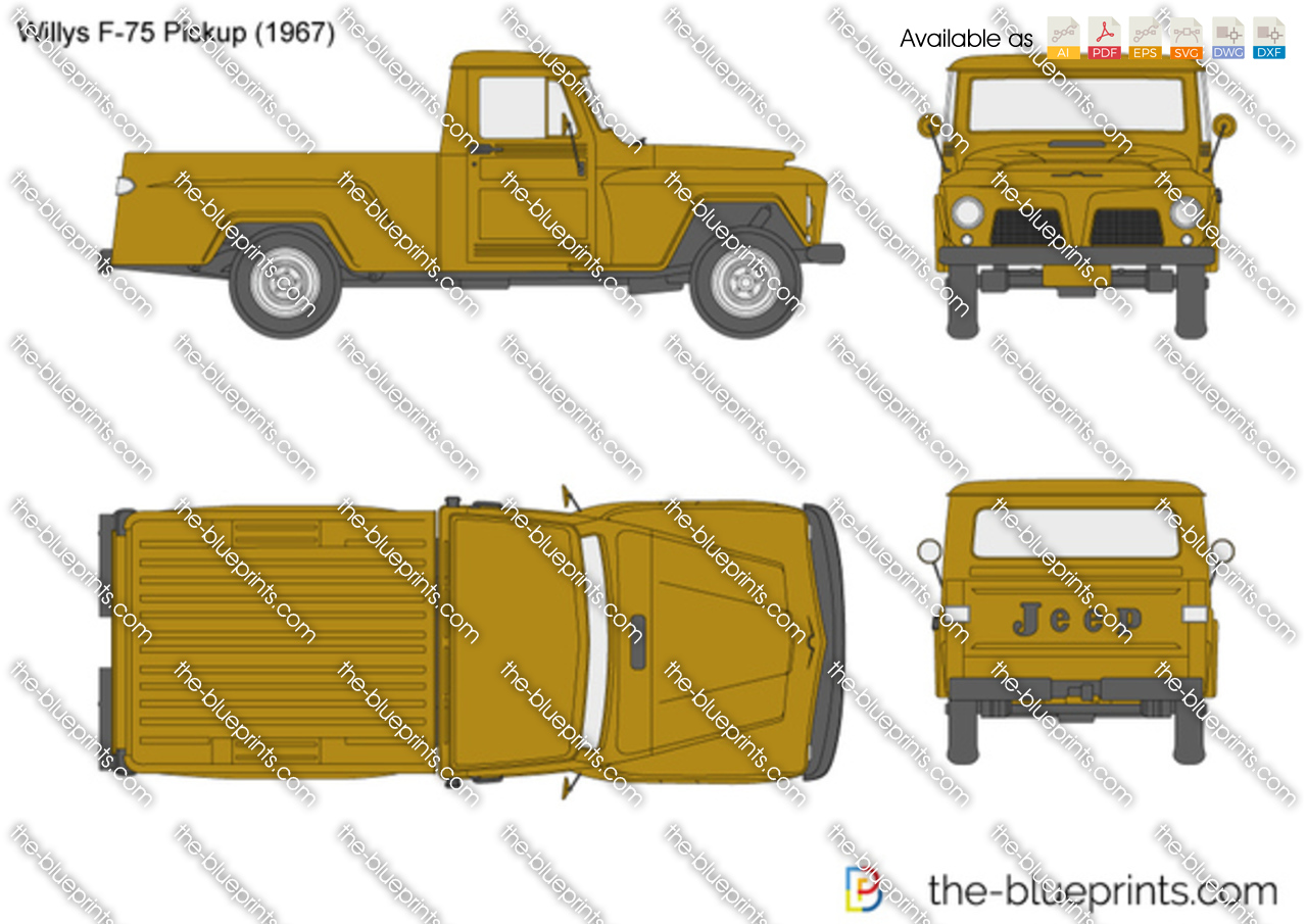 Willys F-75 Pickup