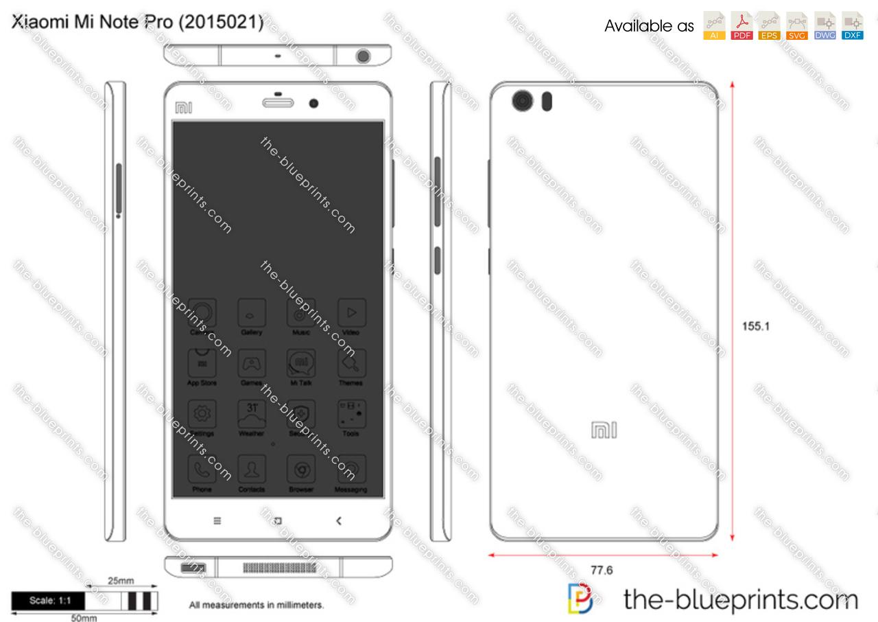Xiaomi Mi Note Pro (2015021)