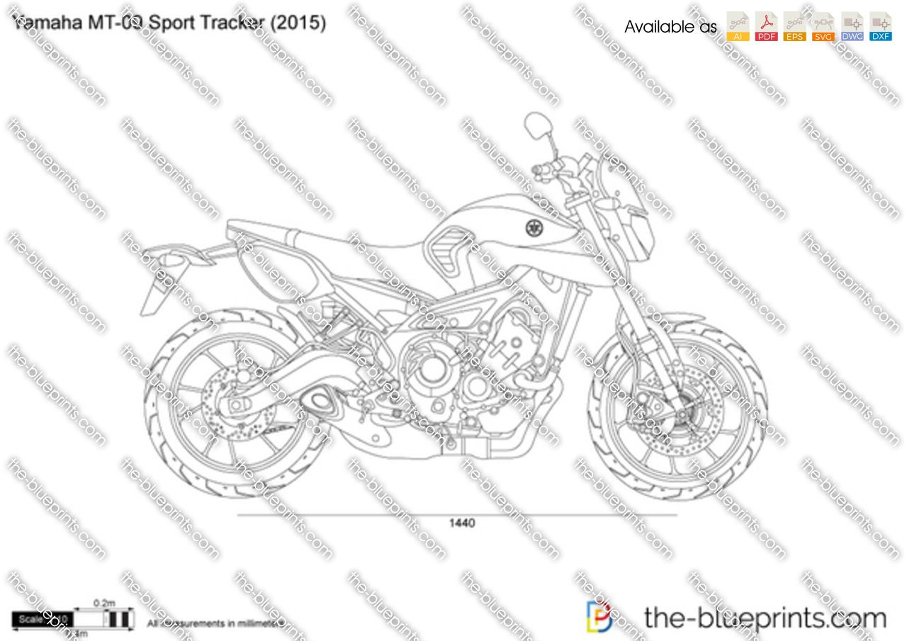 Yamaha MR-09 Sport Tracker 2018