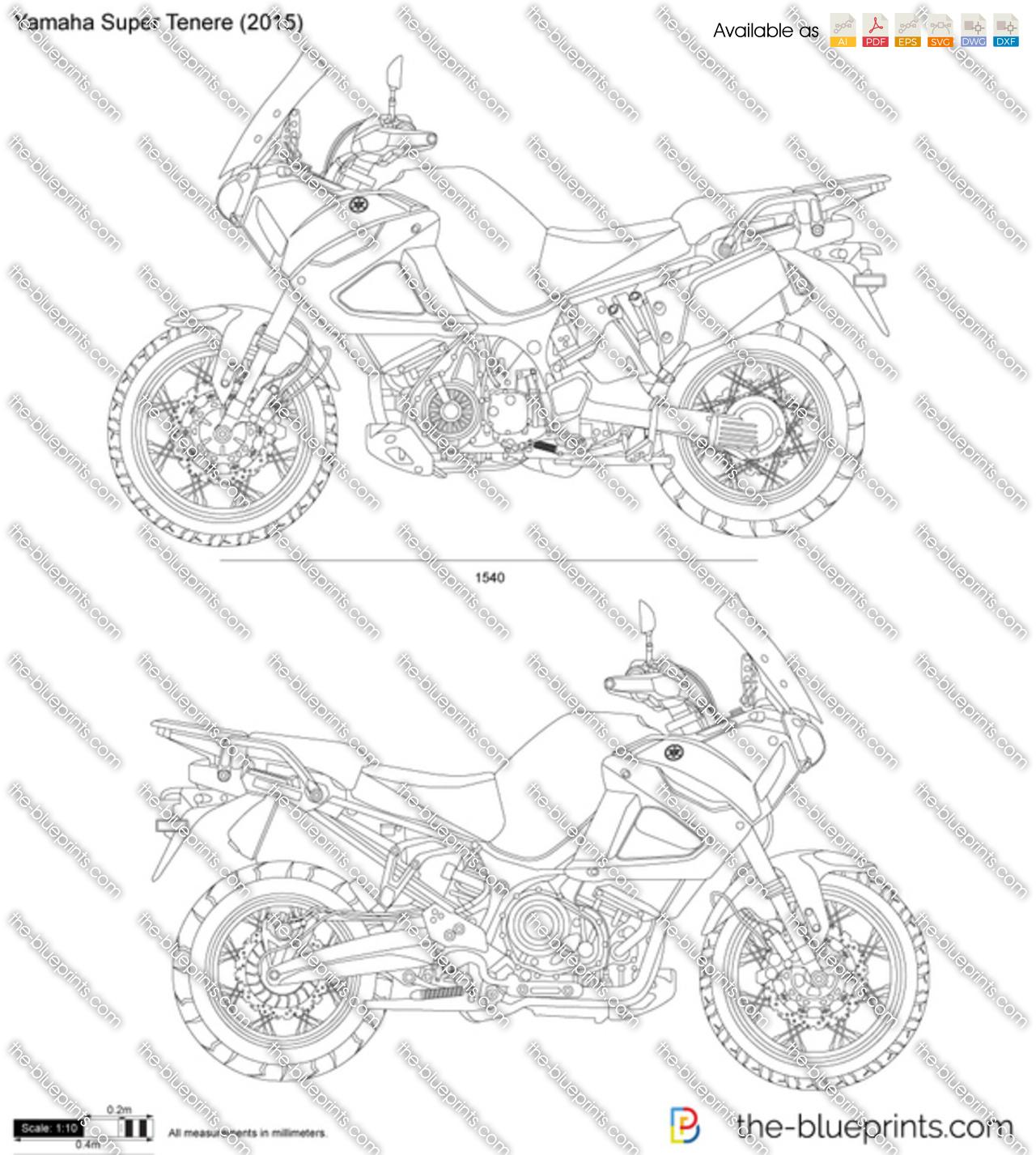 Yamaha Super Tenere 2018
