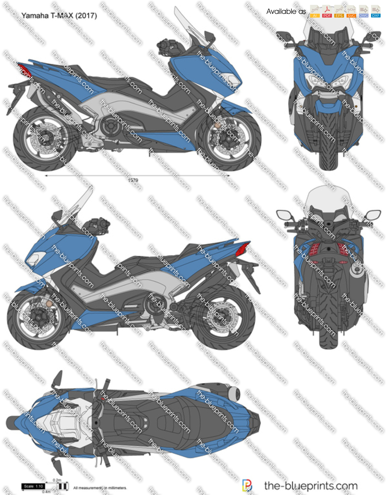 Yamaha T-MAX 2018