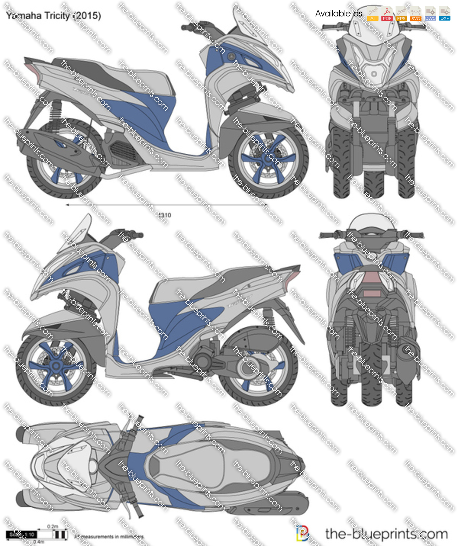 Yamaha Tricity 2018