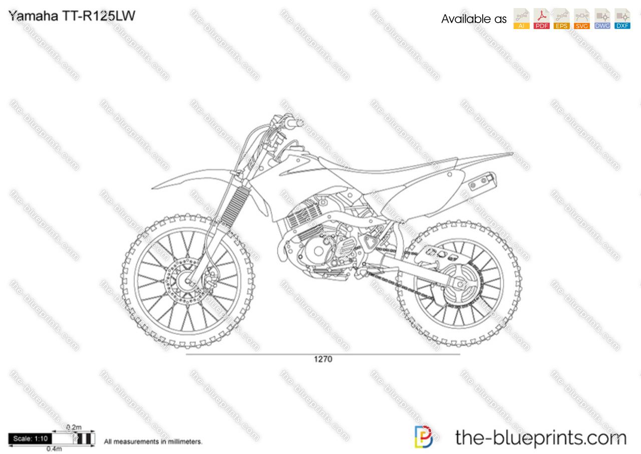 Yamaha TT-R125LW