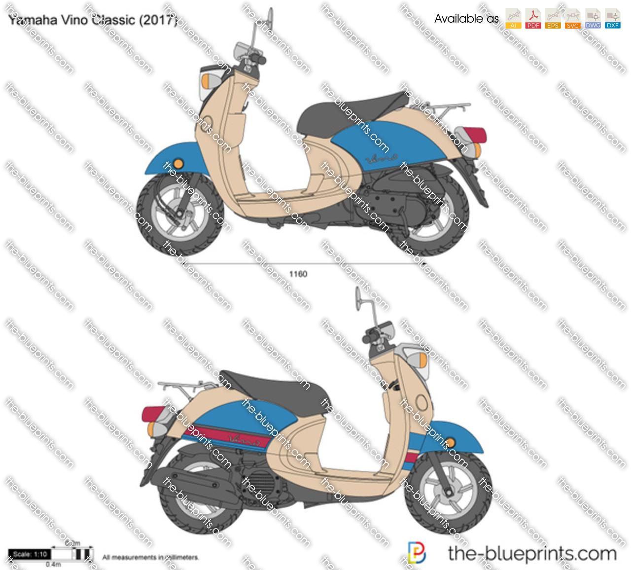 Yamaha Vino Classic 2018