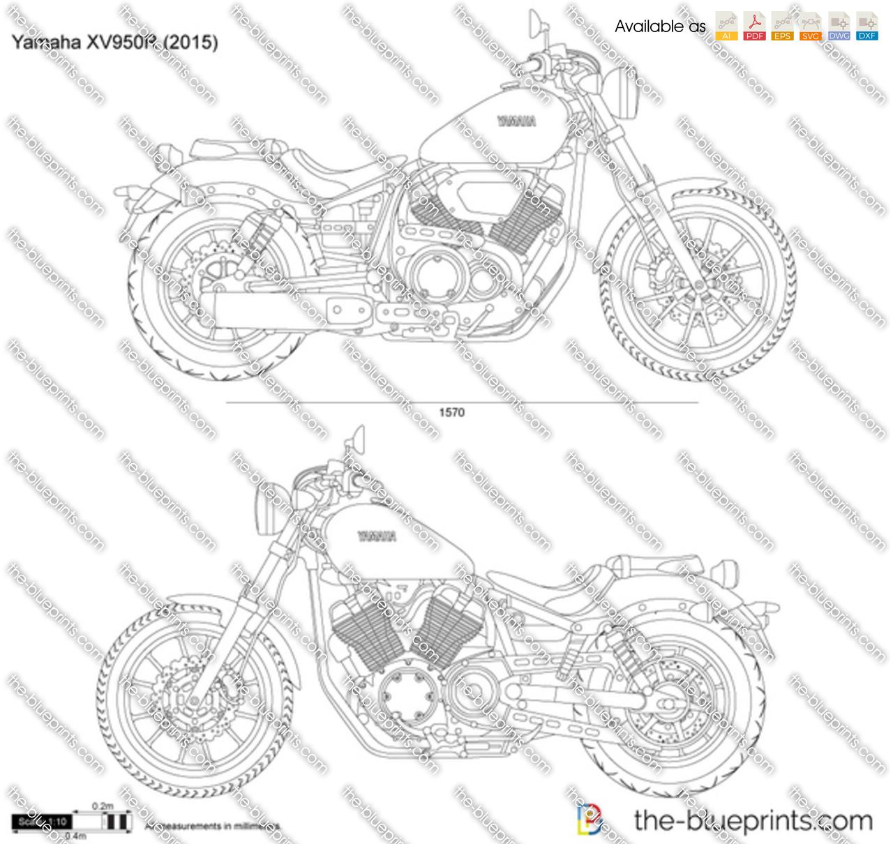 Yamaha XV950R 2018