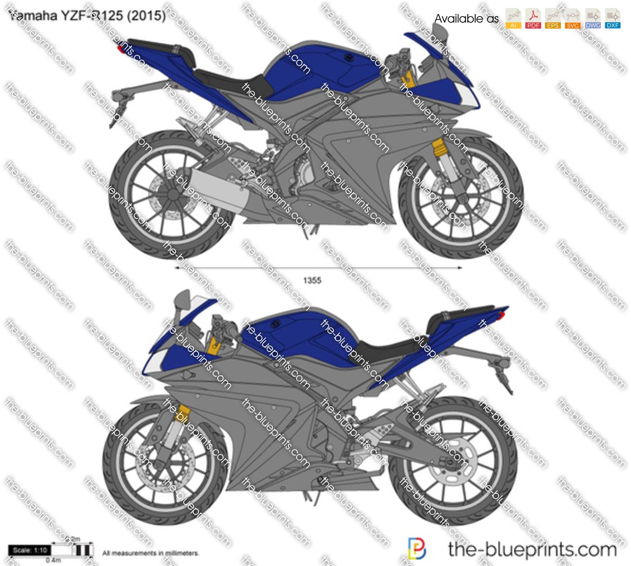 Yamaha YZF-R125 2017