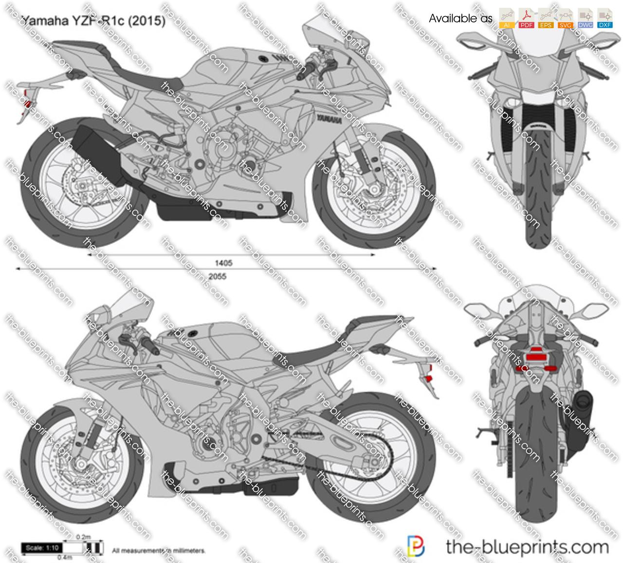 Yamaha YZF-R1c 2018