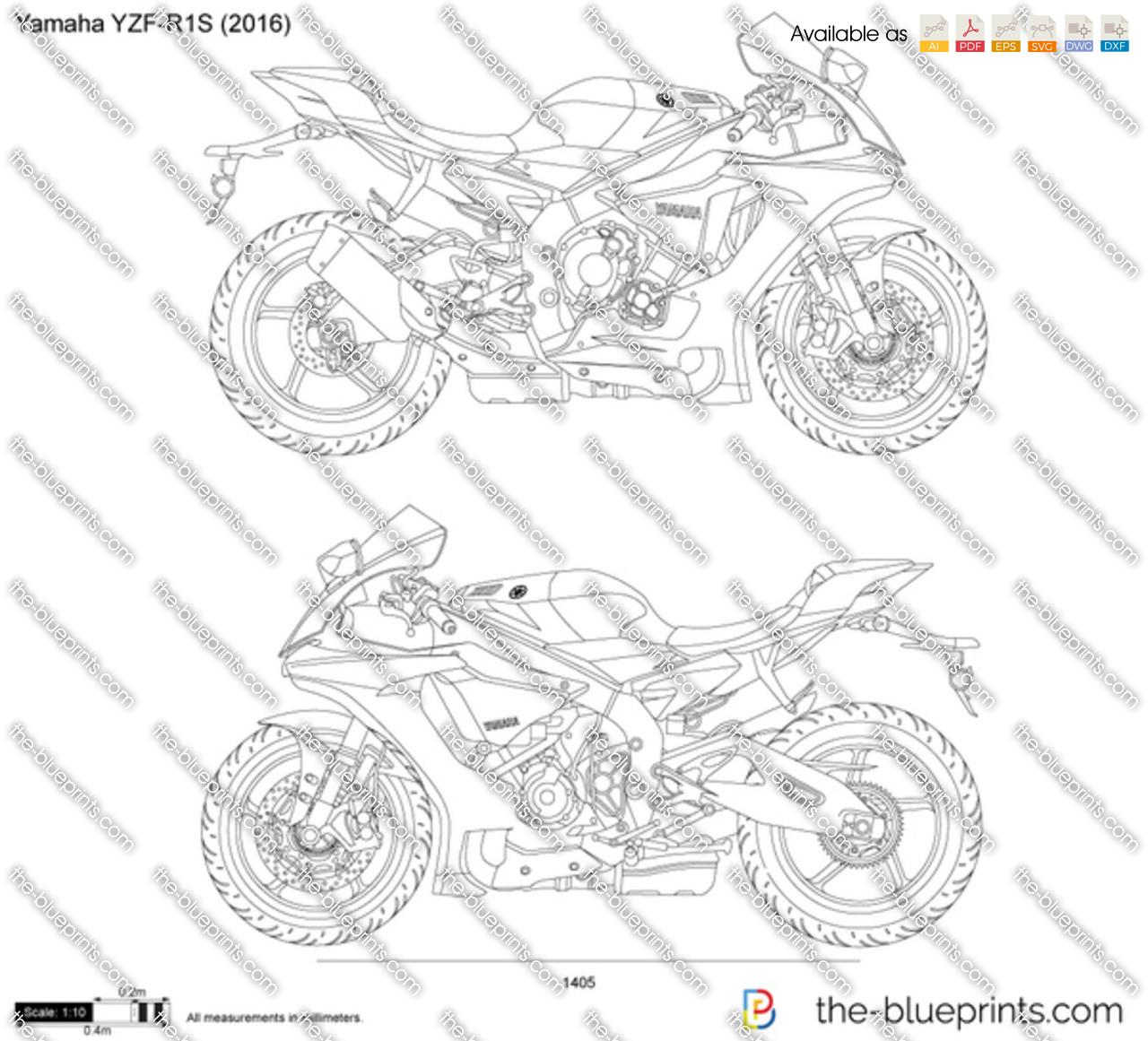 Yamaha YZF-R1S 2017