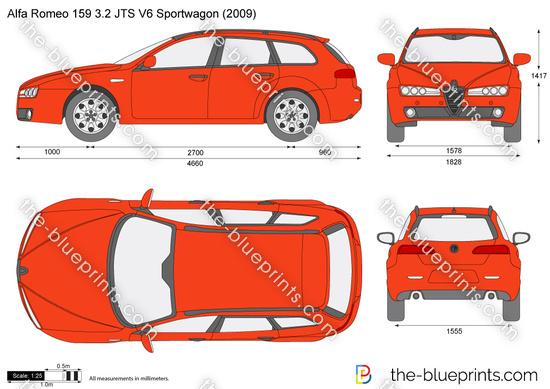 Alfa Romeo 159 3.2 JTS V6 Sportwagon
